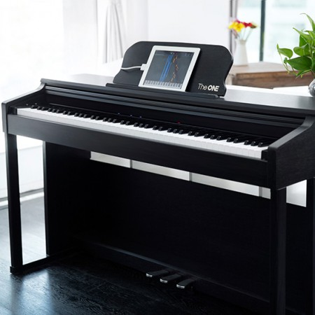 the one智能钢琴优雅黑