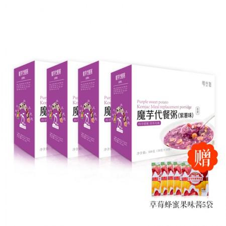 明安旭 魔芋代餐粥(紫薯味)·4袋