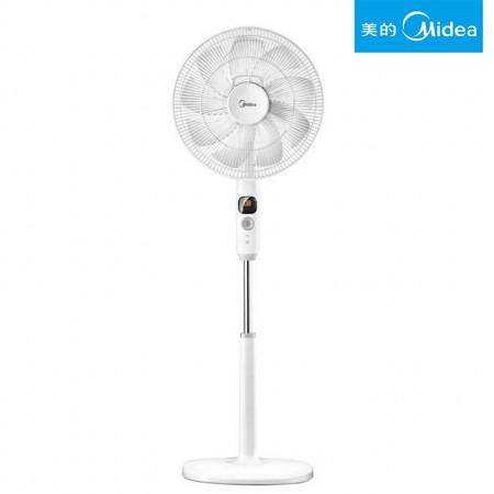 Midea/美的电风扇9叶变频遥控立式智能落地扇 FS40-17DR 白色