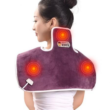 健康管家电热式海盐肩颈热敷理疗包·紫色  紫色