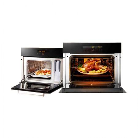 方太智能触控嵌入式电蒸箱E2电蒸箱+烤箱E2T两件套