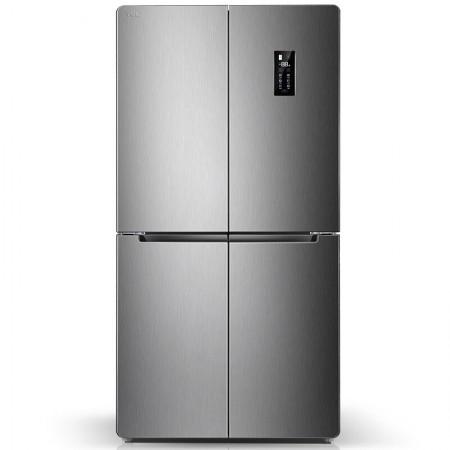 TCL480WEPZ50典雅银十字风冷冰箱