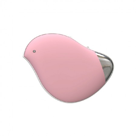 【暖手+按摩】三板斧 迷你USB充电式按摩暖手宝·粉红色~