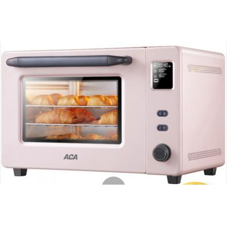 北美电器(ACA)电烤箱家用多功能烘焙40升独立控温低温发酵ATO-E43A