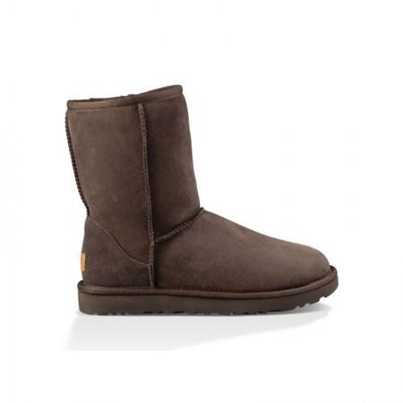 美国UGG Angelababy代言休闲经典款中筒靴雪地靴·经典巧克力色  经典巧克力色