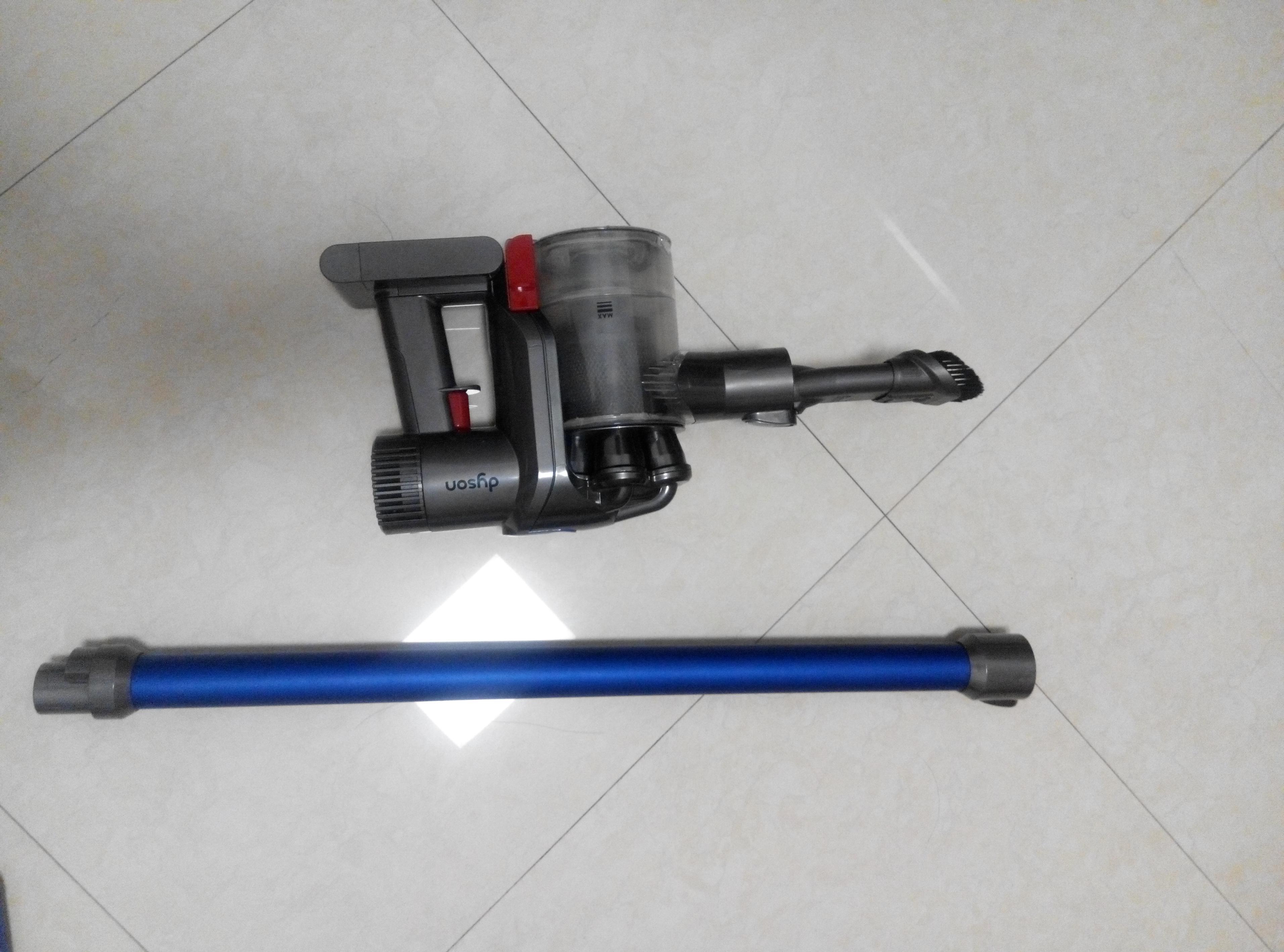 [戴森]原装进口无线吸尘器(dc45) 蓝色